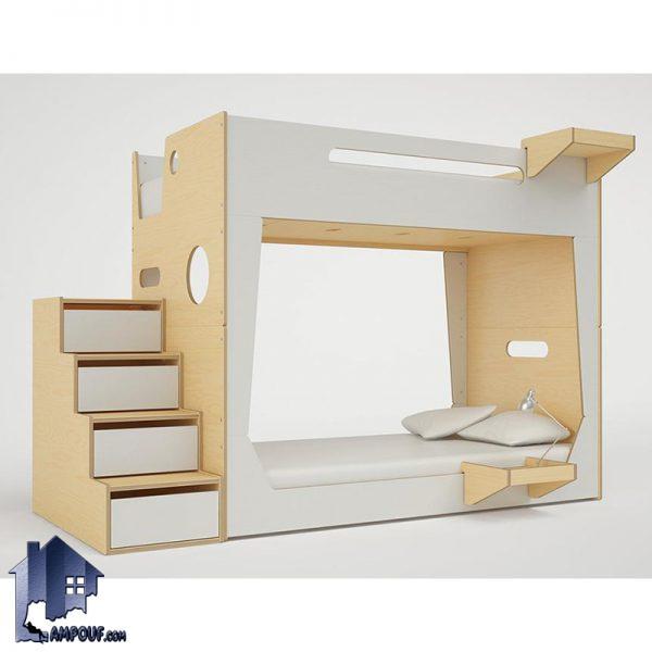 تخت خواب دو طبقه TBJ48