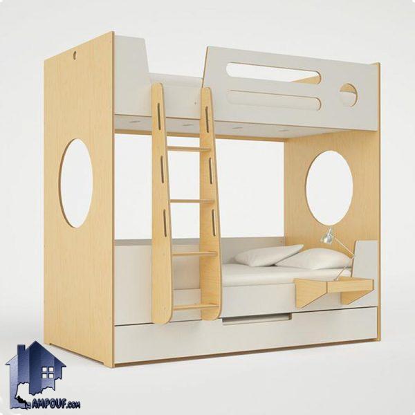 تخت خواب دو طبقه TBJ49