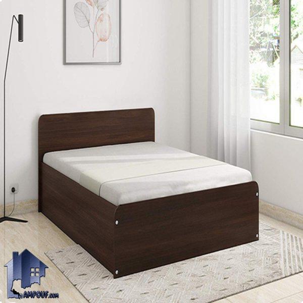 تخت خواب یک نفره SBJ114 دارای کفی فلزی و بدنه چوبی که به عنوان تختخواب یکنفره در داخل اتاق خواب و در کنار سرویس خواب در منزل و ویلا و هتل ها استفاده میشود.