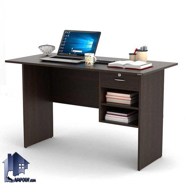 میز تحریر SDJ283 دارای کشو و قفسه که به عنوان میز کامپیوتر لپ تاپ و مطالعه و میز کار در محیط های اداری و اتاق خواب کودک و نوجوان و بزرگسال قرار میگیرد.