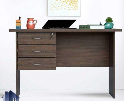 میز تحریر SDJ285 با طراحی کشو دار که به عنوان میز کار در محیط اداری و میز مطالعه و کامپیوتر و لپ تاپ در اتاق خواب کودک و نوجوان و بزرگسال استفاده میشود