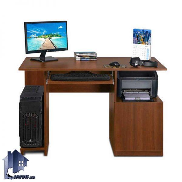 میز کامپیوتر SDJ288 دارای جای کیس و کیبورد که عنوان میز لپ تاپ و مطالعه و تحریر و یا میز اداری کار در داخل اتاق خواب کودک و نوجوان و بزرگسال استفاده میشود.