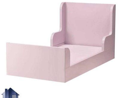 تخت خواب کودک و نوجوان CHJ114 دارای طراحی فانتزی و مناسب به عنوان تختخواب یک نفره کودک و نوجوان که در کنار سرویس خواب در داخل اتاق خواب استفاده میشود.