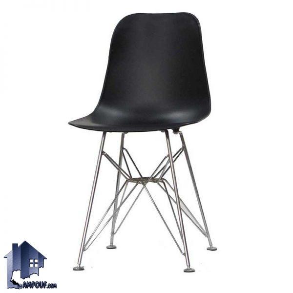صندلی نهارخوری آرین اسپایدر DSO103 پایه فلزی و بدنه پلیمر که کنار میز های ناهار خوری و غذاخوری در آشپزخانه رستوران و کافی شاپ استفاده میشود