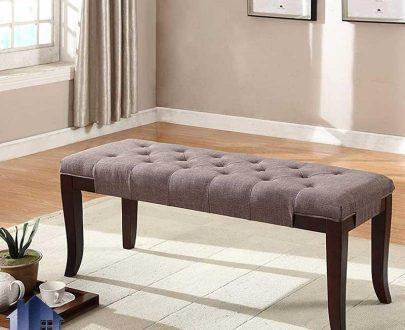 نیمکت BA103 و صندلی دو نفره و پاف که در داخل آشپزخانه و پذیرایی در کنار مبلمان و یا در کنار سرویس خواب و میز آرایش در اتاق استفاده میشود.