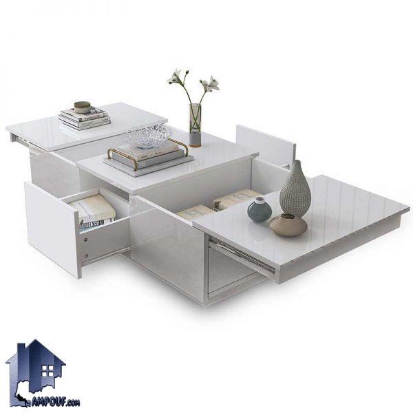 میز جلومبلی HOJ136