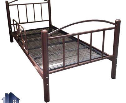 تخت خواب یک نفره SBV139 کاملا فلزی با کفی مستحکم که به عنوان سرویس خواب و تختخواب یکنفره در اتاق خواب و خوابگاه قابل استفاده میباشد