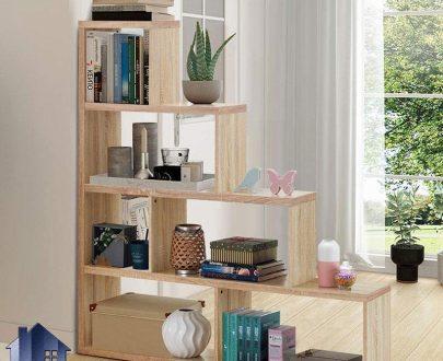کتابخانه SCJ193 که به عنوان پارتیشن و جاکتابی و ویترین و قفسه و یا شلف در قسمت پذیرایی و اتاق خواب منزل و محیط های اداری استفاده میشود.