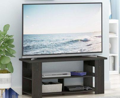 میز LCD مدل TTJ90 که به عنوان براکت و استند تلویزیون و LED و زیر تلویزیونی قفسه دار در کنار دکور پذیرایی و تی وی روم منزل استفاده میشود.