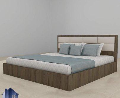 تخت خواب دو نفره DBJ151 که به عنوان سرویس خواب و تختخواب دونفره کینگ و کوئین تاج دار در اتاق خواب بزرگسال مورد استفاده قرار میگیرد.