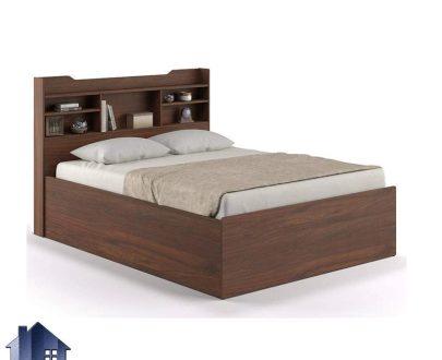 تخت خواب یک نفره SBJ153 دارای تاج قفسه دار که به عنوان تختخواب یکنفره در کنار سرویس خواب در اتاق نوجوان و بزرگسال مورد استفاده قرار میگیرد