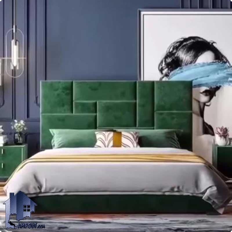 تخت خواب دو نفره DBRo410