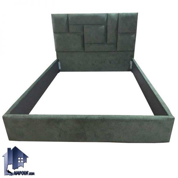 تخت خواب یک نفره SBRo408 که به عنوان سرویس خواب و ست تاج باکس و تختخواب دونفره لمسه شده و چستر در اتاق خواب مورد استفاده قرار میگیرد