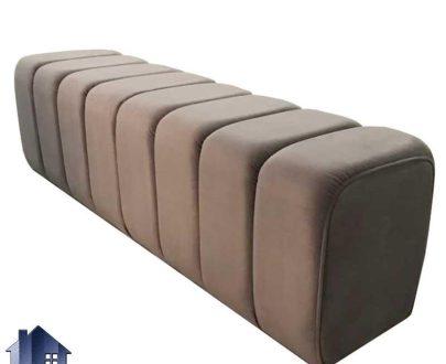 پاف PBRo121 به صورت نیمکت و صندلی در قسمت جلوی تخت خواب دو نفره و یک نفره و در کنار سرویس خواب در اتاق و یا دکور پذیرایی استفاده میشود.