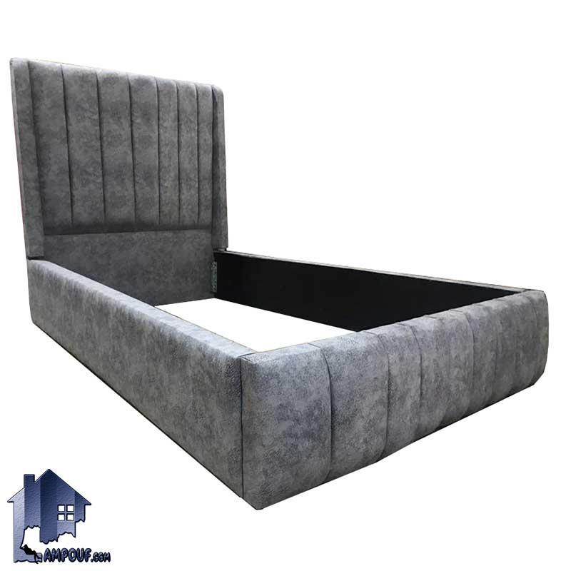 تخت خواب یک نفره SBRo406 به صورت ست تاج باکس با کفی فلزی که به عنوان تختخواب و سرویس خواب یکنفره در اتاق نوجوان و بزرگسال استفاده میشود.