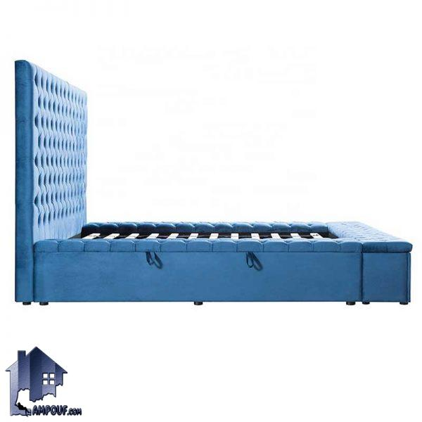 تخت خواب یک نفره چستر SBRo407