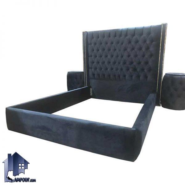 تخت خواب یک نفره چستر SBRo409 که به عنوان تختخواب و ست تاج باکس و سرویس خواب یکنفره در اتاق خواب نوجوان و بزرگسال استفاده میشود.