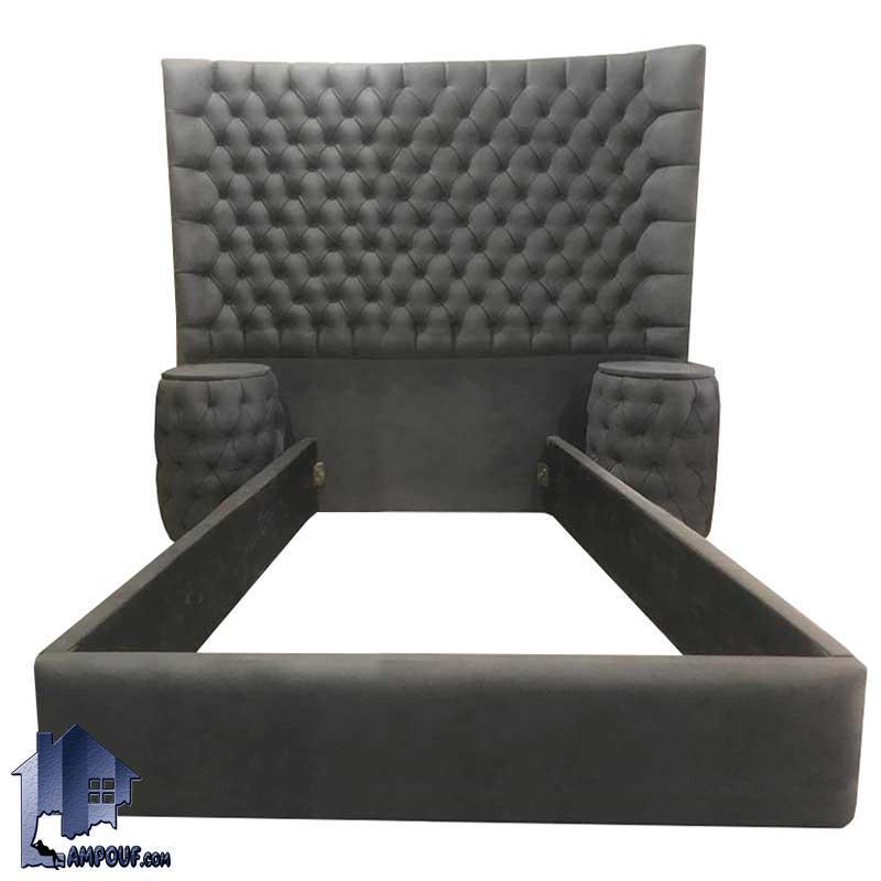 تخت خواب یک نفره چستر SBRo410 به صورت تاج باکس لمسه که به عنوان سرویس خواب و تختخواب یکنفره در داخل اتاق نوجوان و بزرگسال استفاده میشود