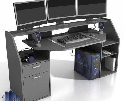 میز گیمینگ SDJ403 به عنوان میز بازی کامپیوتر که میتواند به صورت میز کامپیوتر و تحریر و مطالعه در اتاق خواب نوجوان و بزرگسال قرار بگیرد