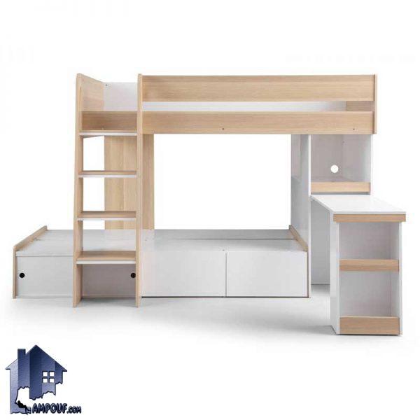 تخت خواب دو طبقه TBJ61