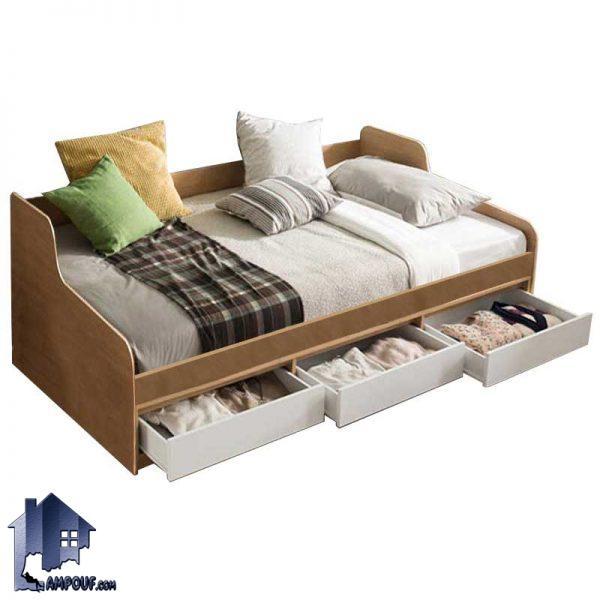 تخت خواب یک نفره SBJ158