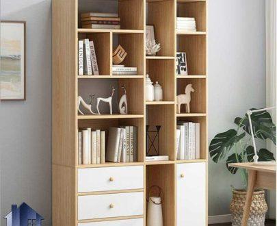 کتابخانه SCJ198 دارای قفسه و کشو که به عنوان ویترین در کنار سرویس خواب در اتاق و همچنین در پذیرایی و شرکت و دفاتر اداری استفاده میشود