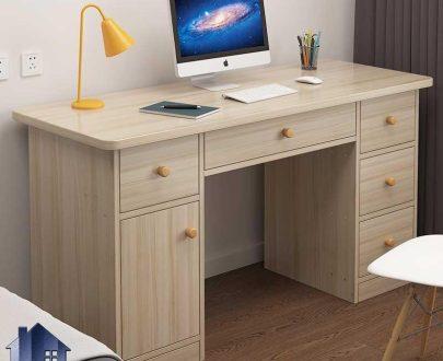 میز تحریر SDJ342 به صورت فایلینگ و کشو دار که به عنوان میز مطالعه و کار و یا میز کامپیوتر و لپ تاپ و گیمینگ مورد استفاده قرار میگیرد.