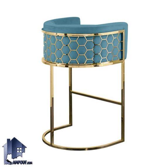 صندلی اپن رز BSO809 با بدنه فلزی زیبا که میتواند مناسب برای انواع میز های کانتر و بار در آشپزخانه و پذیرایی و کافی شاپ و رستوران باشد