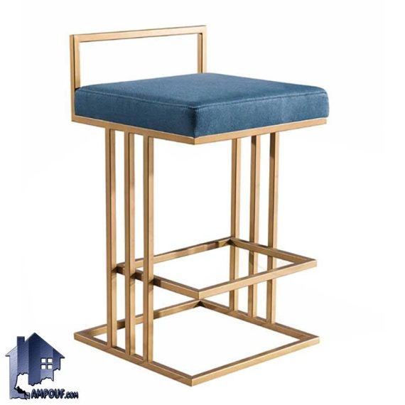 صندلی اپن برانکس BSO816 دارای بدنه فلزی که در کنار میز های بار و کانتر و پیشخوان در رستوران و کافی شاپ و آشپزخانه و پذیرایی قرار میگیرد.