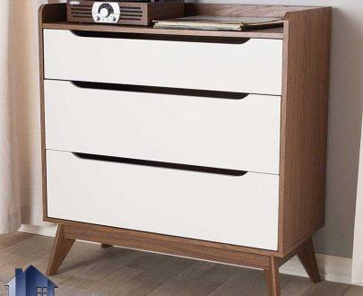 دراور DJ531 دارای سه کشو که به عنوان میز کنسول و آرایش و یا میز توالت و گریم در کنار سرویس خواب در اتاق خواب مورد استفاده قرار میگیرد