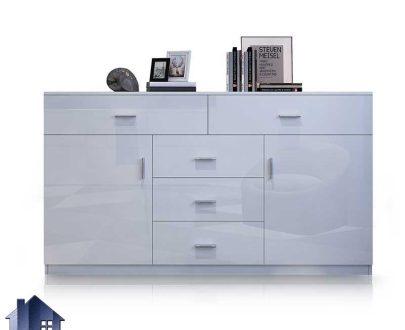 کنسول SCJ202 دارای کشو و قفسه و درب که به عنوان میز آینه و کابینت و میز در قسمت پذیرایی و آشپزخانه و اتاق خواب مورد استفاده قرار میگیرد.