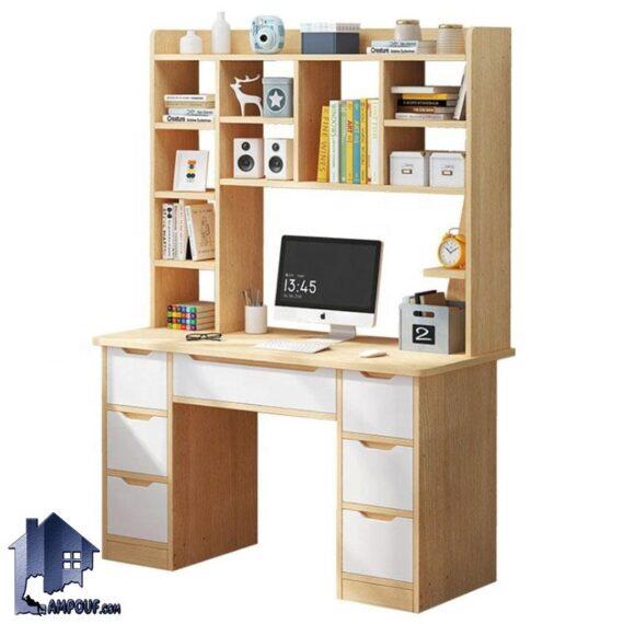 میز تحریر SDJ351 دارای کتابخانه، کشو، قفسه، که در کنار سرویس خواب در اتاق به عنوان میز کار، مطالعه، لپ تاپ، کامپیوتر و گیمینگ استفاده میشود.