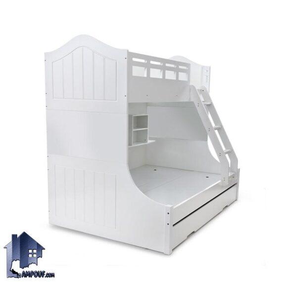 تخت خواب دو طبقه TBJ69