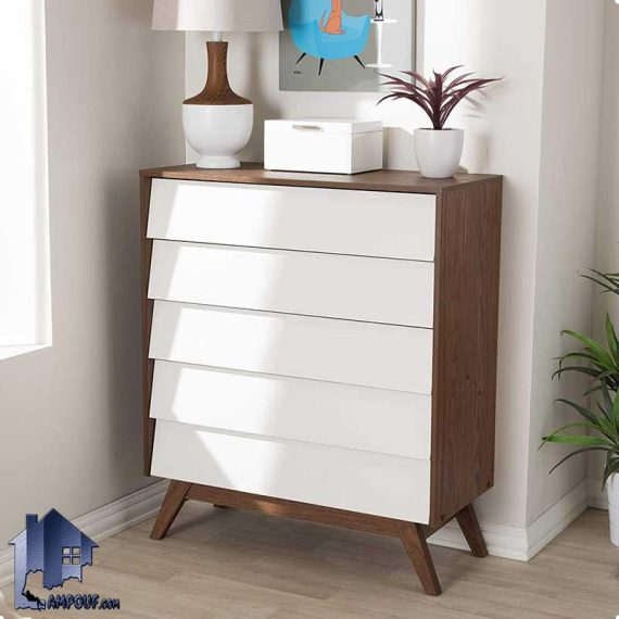 دراور DJ530 دارای کشو که به عنوان کنسول و میز آرایش و گریم و میز توالت کشودار در کنار سرویس خواب در اتاق خواب مورد استفاده قرار میگیرد.