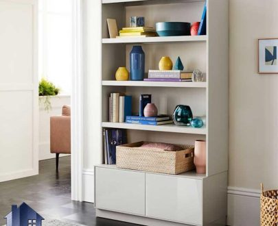 کتابخانه BCSJ101 دارای قفسه و طبقات به عنوان جاکتابی و دو درب کمد که به عنوان ویترین در کنار سرویس خواب اتاق نوجوان و بزرگسال قرار میگیرد