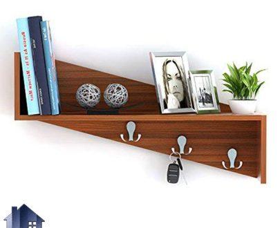 شلف SCJ206 دارای قفسه و رگال آویز لباس و کلید که در قسمت ورودی منزل و اتاق خواب و سرویس بهداشتی و همچنین داخل محیط های اداری قرار میگیرد.