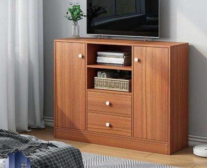 کنسول SCJ208 دارای کتابخانه و به صورت کشو دار که به عنوان میز تلویزیون و جاکتابی و دراور و میز آرایش در کنار سرویس خواب در اتاق قرار میگیرد