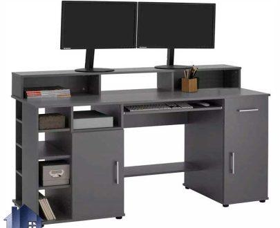 میز گیمینگ SDJ414 دارای کشو و قفسه که به عنوان میز بازی کامپیوتر و رایانه ای و یا میز تحریر و کامپیوتر و لپ تاپ در اتاق نوجوان قرار میگیرد